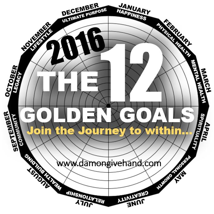 The 12 Golden Goals by Damon Givehand